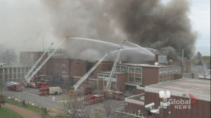 Fire crews battle 6-alarm blaze at Toronto high school