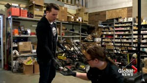 Small mechanic shop has mission to repair the future of Calgary's at-risk youth