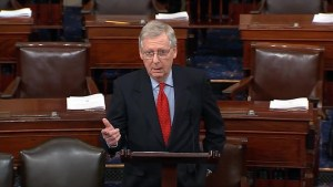 Mitch McConnell blames U.S. Senate Democrats for shutdown: 'We did everything we could'