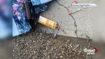 Lethbridge business owner says supervised consumption site's clients are damaging property, littering