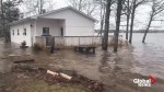 Lake homes north of Saint John flooded as waters rise