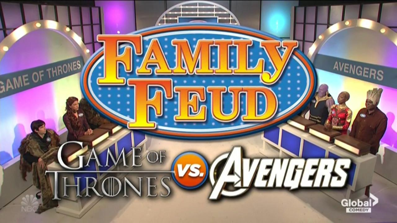 SNL pits Game of Thrones against Avengers on Family Feud