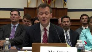 Former FBI agent Strzok grilled as GOP lawmakers spar