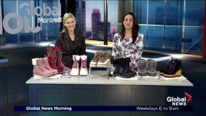 Winter footwear with Lisa Kisber