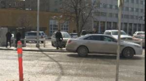 Winnipeg police arrest suspect with 'suspicious item' in The Exchange