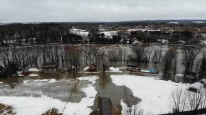 Quebec town left submerged after heavy flooding