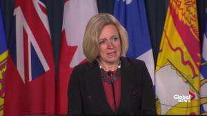 Notley believes Trans Mountain pipeline will be built despite B.C. opposition