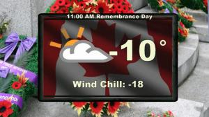 Saskatoon weather outlook: warm up for Remembrance Day weekend