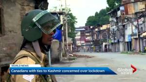 Kashmiri Canadians worried about family during blackout