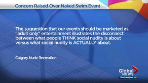 Petition demands halt to naked swim event in Calgary