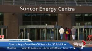 Suncor and Canadian Oil sands reach deal