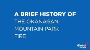 A brief history of the Okanagan Mountain Park fire