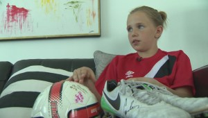 Canadian soccer legend leaves Winnipeg player 'on cloud 9' after giving away cleats