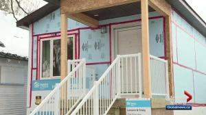 Habitat for Humanity builds house for Winnipeg family