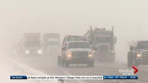Snow causing slow commute and school closures in Calgary