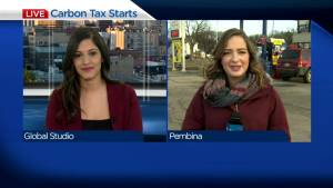 The new federal Carbon Tax rolls out in Manitoba