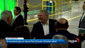 Doug Ford vows to stand behind autoworkers affected by job cuts