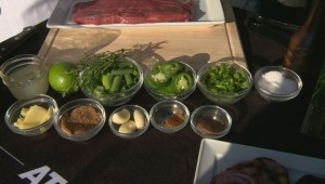 From the Grill: jerk flank steak