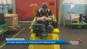 Emotional day at General Motors plant in Oshawa
