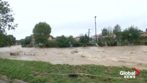Southwestern France hit with worst flash floods in a century