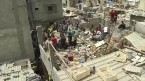 Israel/Gaza conflict crosses deadly milestone