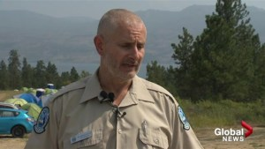 Fire boss bullish on battle against Okanagan wildfires, concerned for firefighter fatigue in heat