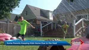 GTA parents keep kids home from school during extreme heat