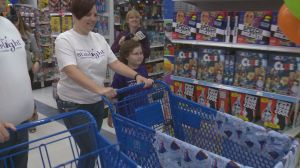 9-year-old with cancer gets unlimited toy shopping spree