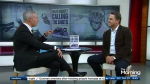NHL alumni Kelly Hrudy tells his story in his new book 'Calling the Shots'