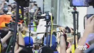 Protesters force their way into Hong Kong legislature building