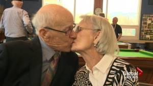 B.C. man celebrating 100th birthday and 75th anniversary