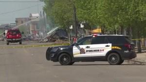 Devastating fire tears through several buildings in downtown Brandon