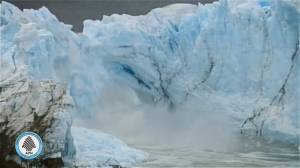 WATCH: Glacier ice bridge crumbles in Argentina