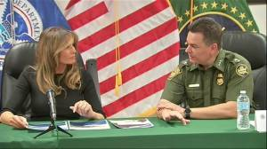 Melania Trump makes second visit to US/Mexico border