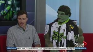 Rush Hulk on Saturday's big game
