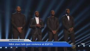 Basketball stars and celebs speak out against gun violence