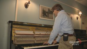 Childhood blindness led him to the piano, and now he's Toronto's most remarkable piano tuner