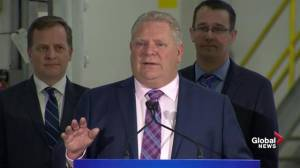 Doug Ford addresses John Tory's absence at transit announcement: We met 21 times