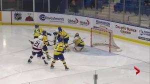 Regina Pats come back to top Saskatoon Blades 7-5