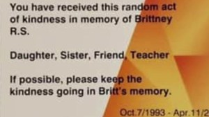 Cranbrook woman honours sister's memory with acts of kindness