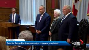 Premier Doug Ford makes major changes to cabinet
