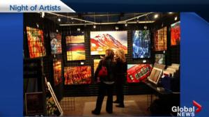 Night of Artists Gala & The NOA Artwalk