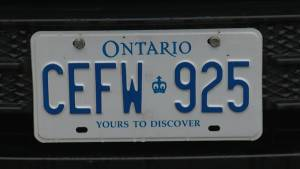 Big changes are planned for licence plates in Ontario