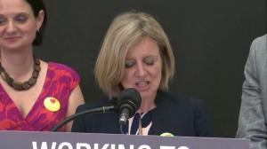 Premier Notley on $25-a-day daycare major expansion