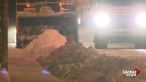 Snow removal underway after major Montreal storm