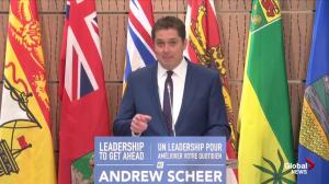 Scheer calls Trudeau budget a trick 'out of Kathleen Wynne's playbook'
