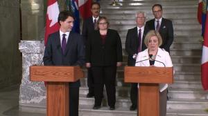 Rachel Notley outlines what federal money will be used for