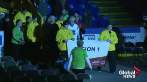 The Special Olympics BC Winter Games officially opened with ceremony Thursday night