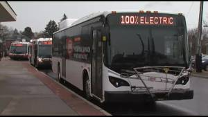 Belleville Transit is doing a 6 week electric bus test potentially eliminating green house gas emissions and saving money.
