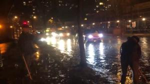 Unexpected rainfall causes flooding, catches Vancouver crews off-guard